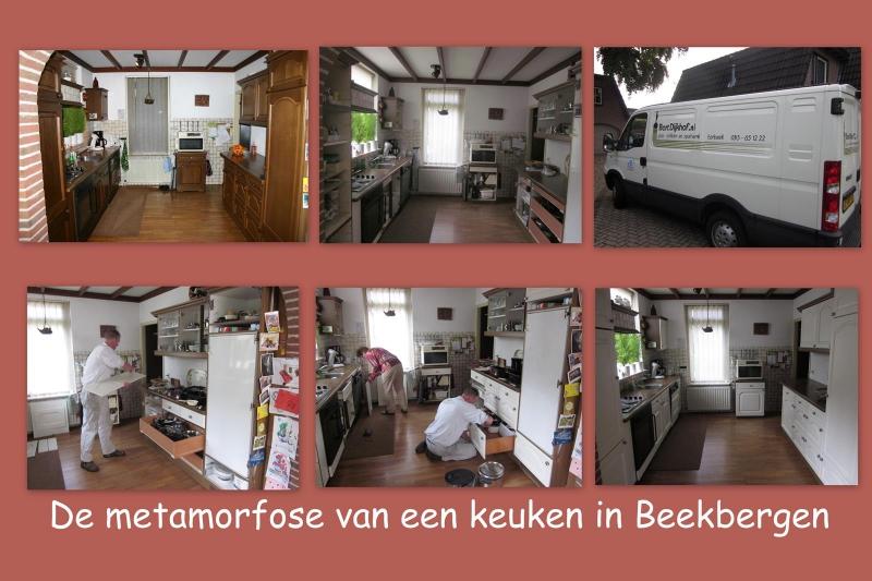 metamorfose keuken Beekbergen