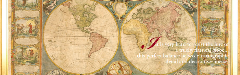 Iris Antique Globes and Maps